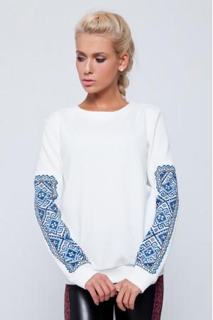Свитшот «Листа» белого цвета