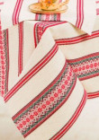 Скатерть с салфетками «Красная нить», размер 2,3х1,4 м