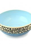 Блакитний салатник «Віночок»