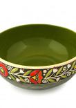 Зелений салатник «Віночок»