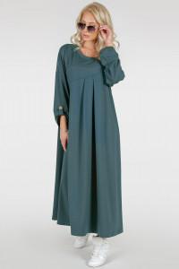 Сукня «Калхида» кольору морської хвилі
