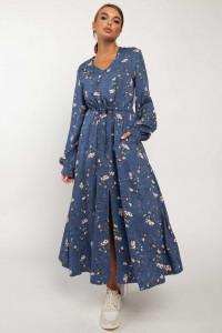 Сукня «Нессі» синього кольору