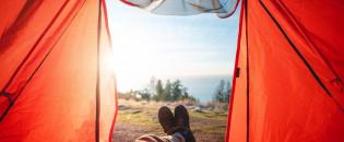 12 місць для відпочинку у наметі