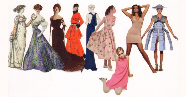 Історія сукні: від шкури мамонта до ХХ століття>
