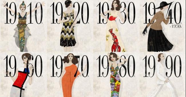 ХХ століття. Історія сукні та не тільки