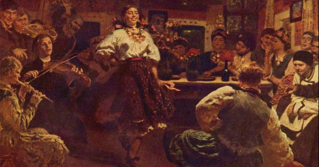 Традиційні розваги наших предків: вечорниці>