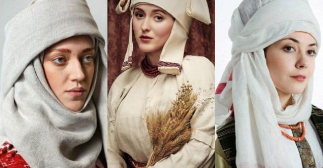 Намітка. Обрядовість та роль головного убору українок 15-го століття.
