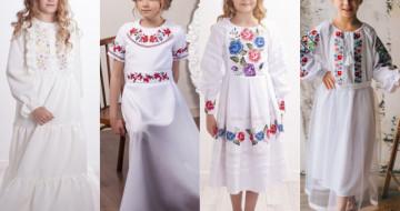 Новинки вишитих суконь для дівчаток. Поради по вибору сукні.