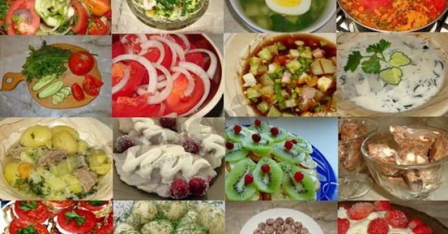 Летняя кухня: вкусно и полезно!