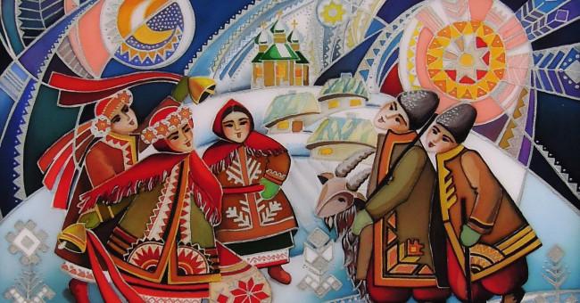 Коляда идет! Украинские колядки для детей на Рождество>