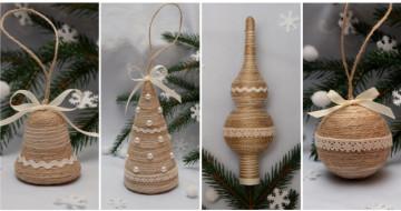 Новогодние украшения ручной работы - атмосфера рождественской сказки