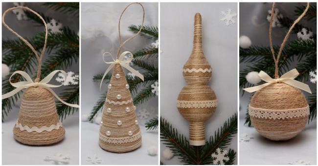 Новорічні прикраси ручної роботи – атмосфера різдвяної казки>