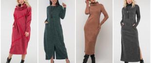 Теплі сукні зимового гардеробу: для комфорту, стилю та привабливості