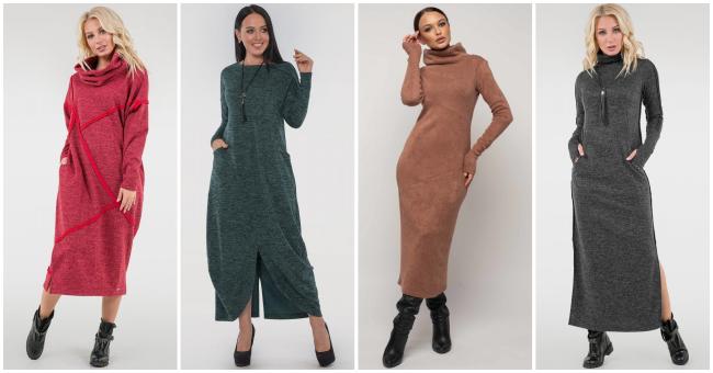 Теплі сукні зимового гардеробу: для комфорту, стилю та привабливості >