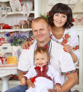 Людмила з родиною, Київ