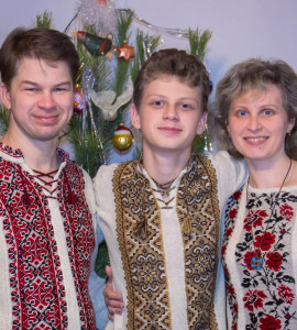 Святослав з родиною