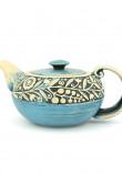 """Блакитний чайник з серії """"Віночок"""""""