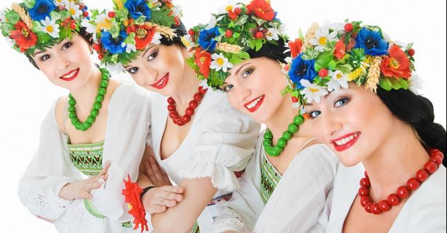 Традиционные украшения украинок