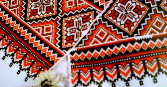 Символіка вишивки на весільних рушниках