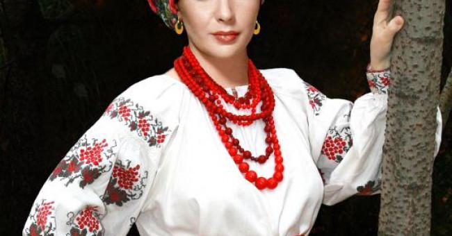 Национальные особенности украинского костюма
