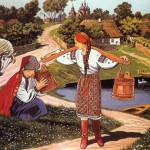 Бытовые песни украинского народа