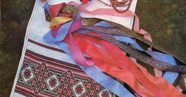 Українські вишиті візерунки - уявлення народу про устрій світу>