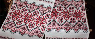 Символическое значение орнаментов украинских вышитых рушников