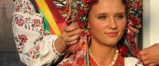 Украинский этнический стиль в украшениях