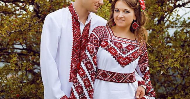 Різнобарв'я українських вишивок або 24 неповторні сорочки-вишиванки>