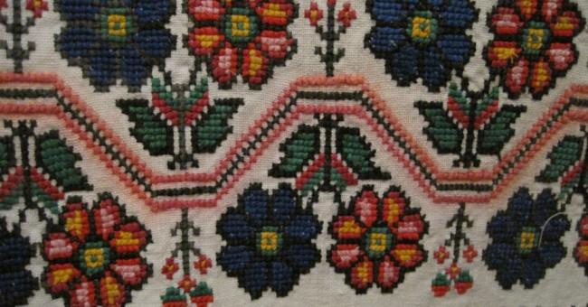 Кольори народної вишивки та їх значення>