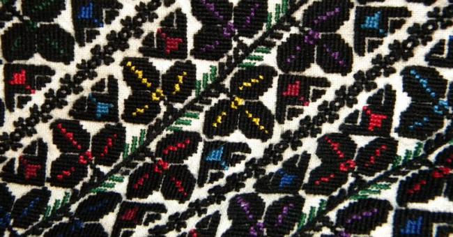 Краса чорних вишиванок або Що таке борщівська вишивка?>