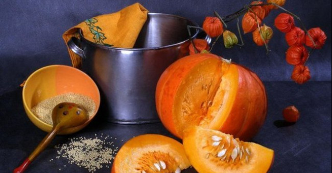 Осеннее «солнце» на тарелке, или Что приготовить из тыквы