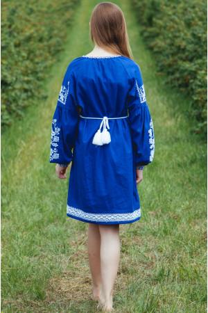 Сукня для дівчинки «Тетянка» синього кольору