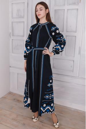 Сукня «Модрина» темно-синього кольору