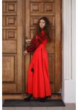 Сукня «Рудана» червоного кольору