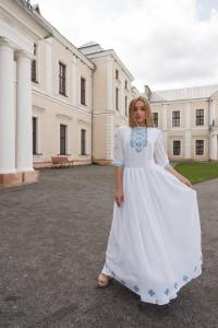 Сукня «Віра» білого кольору