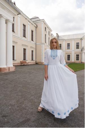 Платье «Вера» белого цвета