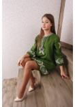 Сукня «Папороть» зеленого кольору
