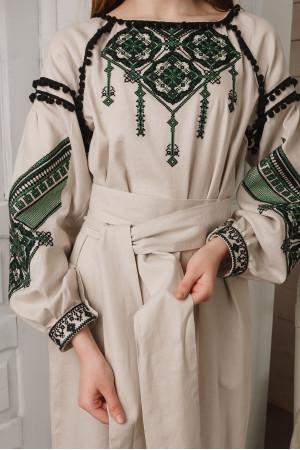 Платье «Лидия» бежевого цвета