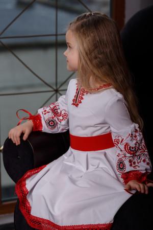 Сукня для дівчинки «Ясинка» білого кольору