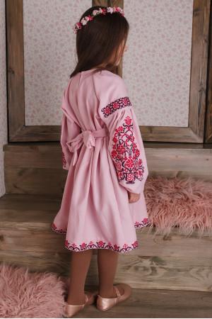 Платье для девочки «Орыся» розового цвета