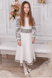 Сукня для дівчинки «Варвара» білого кольору