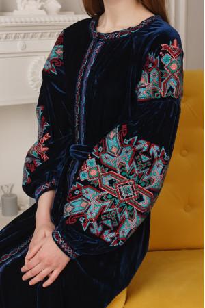 Сукня «Анна» синього кольору
