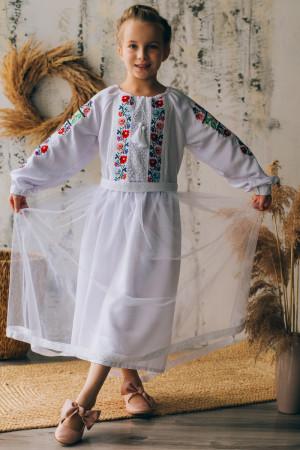 Сукня для дівчинки «Ліліана» білого кольору