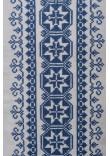 Вишиванка чоловіча «Мирон» з синім орнаментом