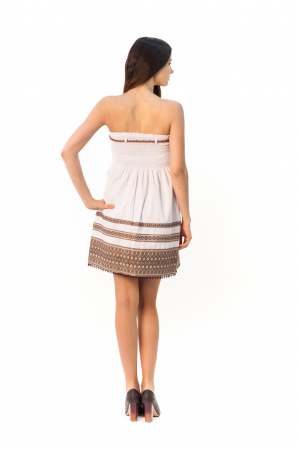 Сукня «Морська» бежевого кольору