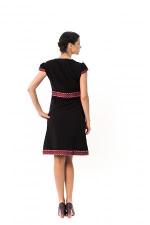 """Платье """"Подолянка"""" черного цвета"""