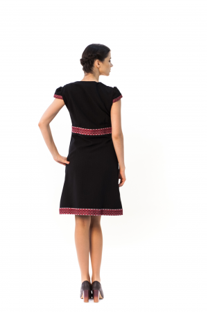 "Сукня ""Подолянка"" чорного кольору"