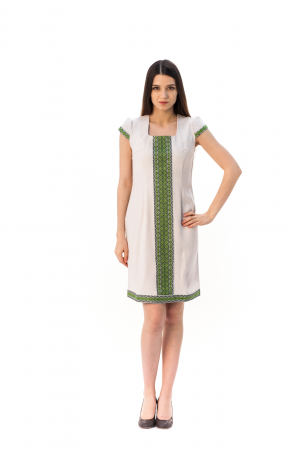 Платье «Шелковая косица»
