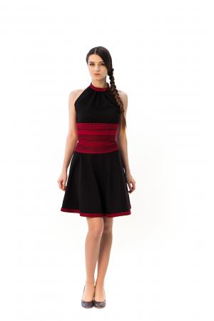 Платье «Олеся» черного цвета